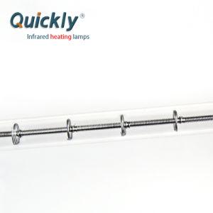 Único tubo de quartzo, lâmpadas de aquecimento infravermelho para fornos de Queima
