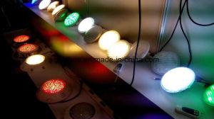 Iluminación subacuática PAR56 RGB LED de 12 V de la luz de la piscina