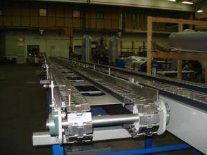 810-K200 executando reta em aço inoxidável Tabela o tapete de cadeia hoteleira