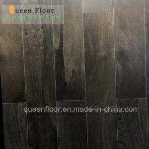 Новые поступления из дуба с высокой плотностью установки V-образную канавку окраска текстуру дерева инженерных Lamiante пол