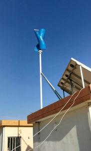 generatore di vento verticale verticale della turbina di vento di asse di 500W 24V piccolo