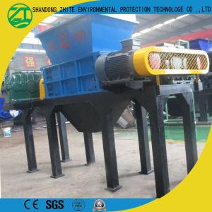 Пластмассовых отходов переработки дробления Измельчитель бумаги машины с двойной вал