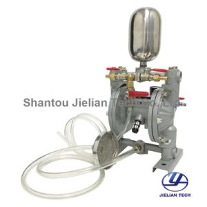 Aluminiumlegierung-Doppelt-Methoden-pneumatische Membranpumpe Bml-10c für Druckerschwärze