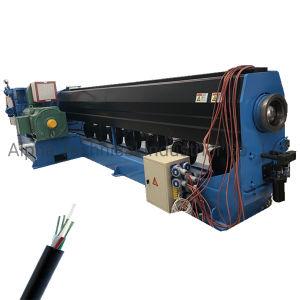 Cable de telecomunicaciones y electrónica de la máquina de extrusión