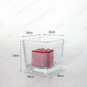 025bc134dd8 Nuevo Diseño Venta al por mayor de la fábrica 560 ml frasco de vidrio  transparente de contenedor de velas la decoración del hogar vela frascos de  vidrio
