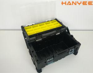 PP/ABS Caja de herramientas, Caja de plástico, caja de herramientas de almacenamiento de herramientas, caja de almacenamiento, Caja de herramientas, Armario de herramientas, Kit de herramientas de reparación de automóviles/Toolbox