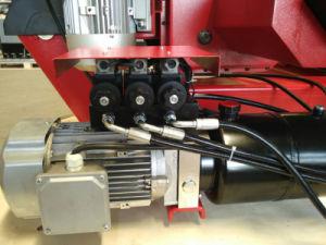 La CE aprobó el cambiador de neumáticos para camiones para garajes