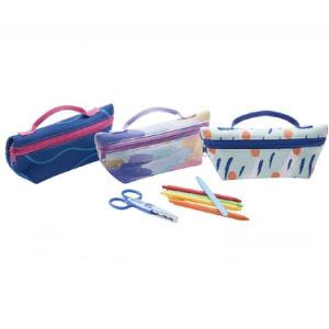 Nouveau style de papeterie scolaire sacs crayon&cas