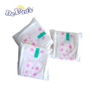 Uso noturno 330mm 290mm OEM de absorção elevada Lady absorventes higiênicos