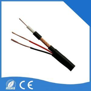 Câble coaxial RG59+2c caméra CCTV de Câble Audio Vidéo BNC pré fait Communication siamois