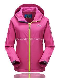 Rivestimento o cappotto di Softshell delle donne impermeabili del commercio all'ingrosso esterno di inverno