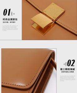 Venda por grosso de grau superior famosa marca de bolsas de couro genuíno para Mulheres