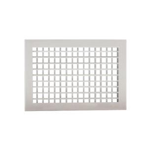 Les grilles de déflexion unique en aluminium mur avec le réglage des lames