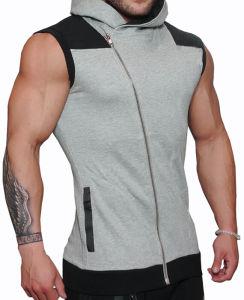 까만 여자의 남자는 로고 인쇄를 가진 디자인 Softshell 재킷을 체중을 줄인다