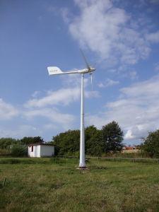 Alimentação de Energia Eólica Gerador do túnel de vento