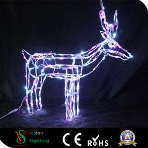 Beleuchtung-Rotwild der Weihnachtsdekoration-LED