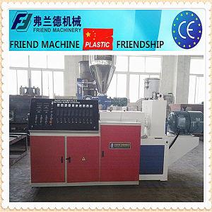 Máquina extrusora de tornillo doble tubería de PVC