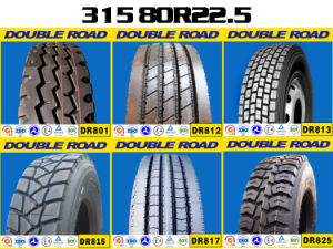 China Lower Price Good Quality Truck Tire 315/80r22.5 mit DOT ECE CCC ISO GCC SNI Son Certification
