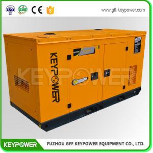 tipo silenzioso diesel Genset di potere 60kVA di colore principale di colore giallo