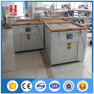 t-셔츠를 위한 노출 기계를 인쇄하는 일반적인 진공 스크린