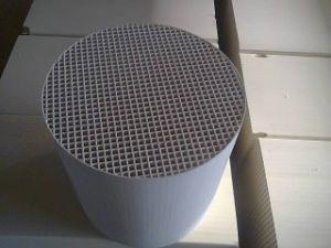 熱記憶装置の換気装置のための陶磁器の蜜蜂の巣のアルミナの熱交換器