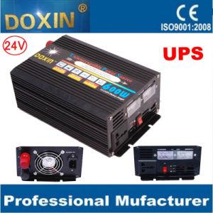 24V Inversor de energia UPS de 600W com carregador de bateria