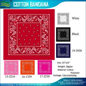 O algodão Cowboy Bandana (B-NF20F19008)