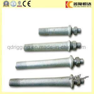 Pasador aislante de alta tensión de los husillos de aislante para la colocación del cable del disco