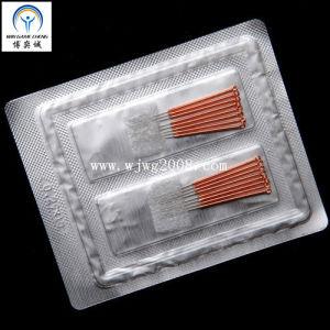 Aiguilles d'acupuncture avec poignée en cuivre (AF8-1)