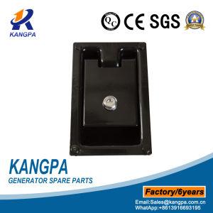 Het zwarte Met een laag bedekte Toolbox van het Kabinet van de Luifel van de Generator van de Hardware van het Staal Handvat van de Deur