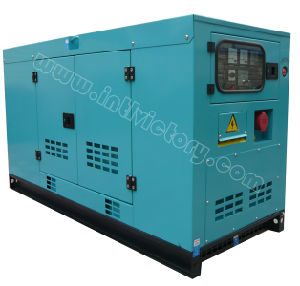 CE/Soncap/Ciq Certificationsの20kVA~56kVA Isuzu 4jb Low Noise Power Generator