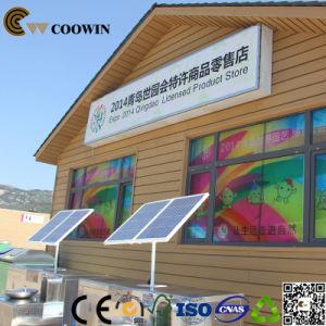 Het Project van het Comité van de Muur van het Huis van de container buiten Muur Clading