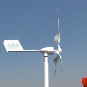 600W 24V de Horizontale Generator van de Wind van de As