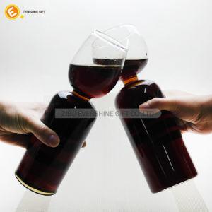 標準的なクラフトは明確なワイングラスのコップを止めた