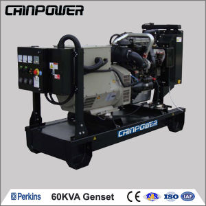 60kVA 48kw Water Cool Diesel Generator set with UK Perkins Engine