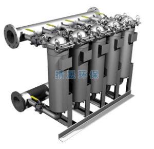Дуплекс мешок фильтра корпуса для 24 часов рабочего состояния системы фильтрации жидкости