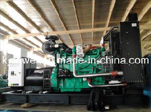 500KW motor Cummins diesel generador silencioso