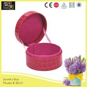 Round Cardboard White Gift Box Cylinder Box Packaging (8010)