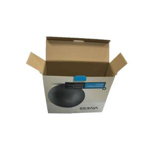 precio de fábrica y envío de cartón ondulado caja de embalaje para Fitness Ball