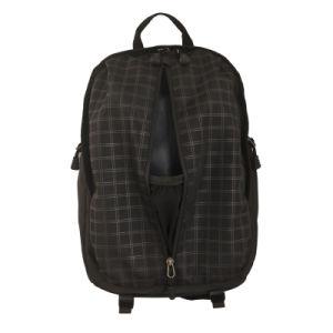 Neuester schwarzer Rucksack des Laptop-2016 mit, Student-Schule-Laptop-Rucksack