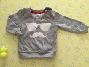 100명의 간이 침대 니트 아기 Bodysuit 아기 의복