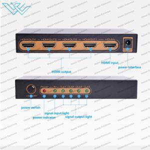 4K*2K@60Hz HDMI 2.0 Hdr HDMI 쪼개는 도구 1X8 1X4 가득 차있는 HD/3D