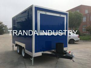Camion esterno mobile moderno dell'alimento di Shawarma