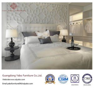 Hotel moderno, muebles de dormitorio con cama de tapicería (YB-WS-83-1)