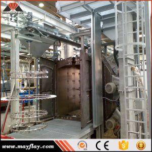 Corrente pendurada Granalhagem Máquina / Tipo Gancho Through-Feed Contínua Granalhagem Limpeza da Máquina