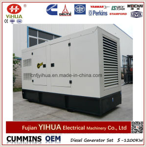 50kVA 40kw silencieux insonorisées générateur diesel avec moteur Cummins