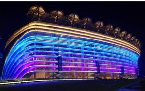 高い発電屋外LEDの照明100-500ワットのMWドライバー庭