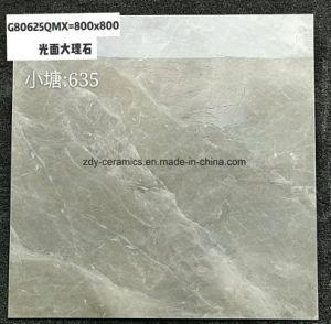 灰色の大理石の磁器の石のフロアーリングの建築材料の磁器のタイル
