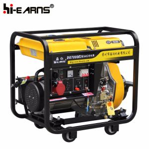 Tipo di blocco per grafici aperto raffreddato ad aria generatore diesel (DG7000E3)