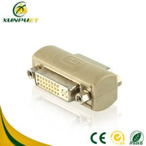 Weibchen des Belüftung-Konverter-D DVI zum weiblichen VGA-Adapter für HDTV